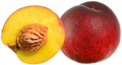 Greek peaches variety May Crest - supplies from Skidra, region (nomos) of Pella