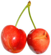 Cracked cherry